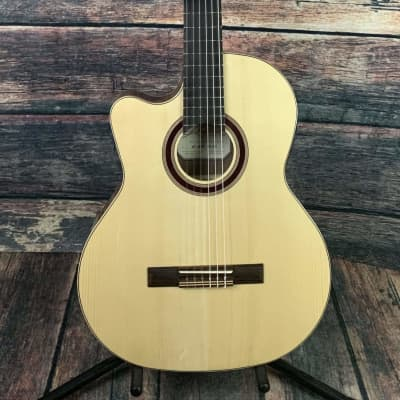 Kremona Left Handed Rondo TL Thin Body Acoustic Electric Guitar for sale