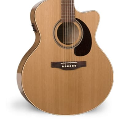 Simon & Patrick  033751 CW GT Mini Jumbo Cedar A3T Acoustic Electric 6 String Guitar for sale