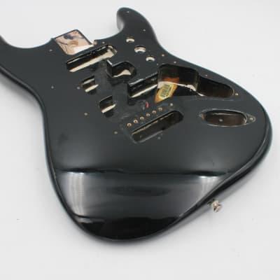 Fender Stratocaster MIM Black Electric Guitar Body