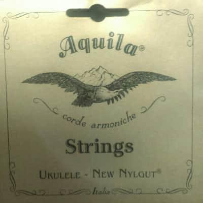Aquila 17U NylGut 6-String Tenor Ukulele String Set. With Wound Lo C & Lo A!