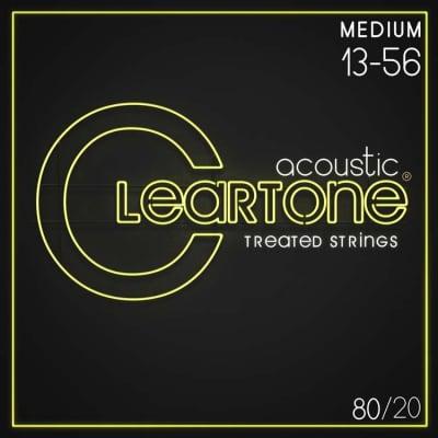 Cleartone 7613 80/20 Bronze Acoustic Guitar Strings - .013-.056 Medium