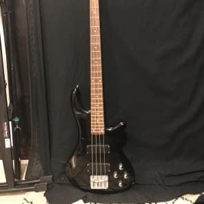 Schecter C-4 Deluxe Active 4-String Bass See-Thru Black