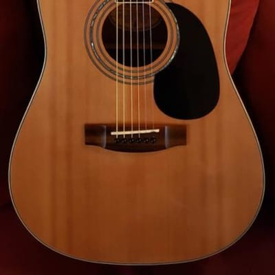Mitchell MD-100 Natural Dreadnought Acoustic Guitar for sale