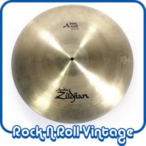 """Zildjian A0042 20"""" A Ping Ride NAMM Show Demo"""