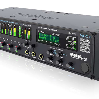MOTU 896mk3 Hybrid Firewire / USB Audio Interface