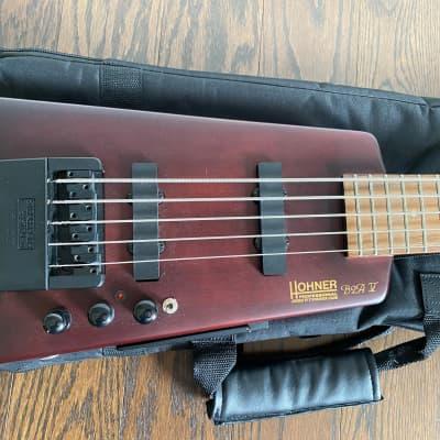 Hohner B2AV 5-String Active Preamp Bass for sale