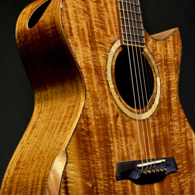 Maestro Guitars Custom Series Singa KO CSB K 2017 Full Pacific Koa for sale