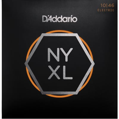 D'Addario NYXL1046 Nickel Wound Regular Light 10-46