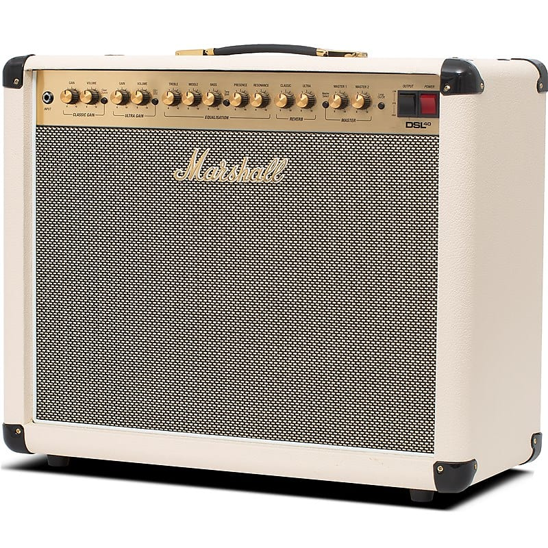 Marshall Dsl40cr 40w 1x12 Valve Combo With Reverb Manual Guide