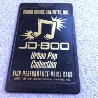 Roland  JD-800 Sound Source Urban Pop Collection