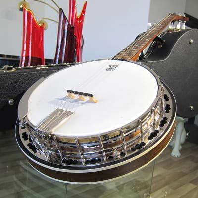 Vintage 2006 Deering Sierra 5 String Bluegrass Banjo All Original with Original Hard Shell Case