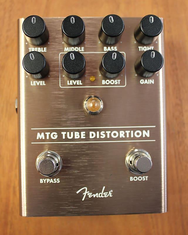 fender mtg tube overdrive guitar effects pedal reverb. Black Bedroom Furniture Sets. Home Design Ideas
