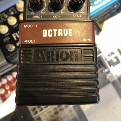 USED Arion Octave Pedal MOC-1 for sale