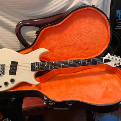 dixon electric guitar white for sale