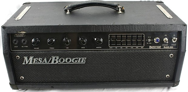 mesa boogie buster bass 200 electric guitar tube 200w reverb. Black Bedroom Furniture Sets. Home Design Ideas