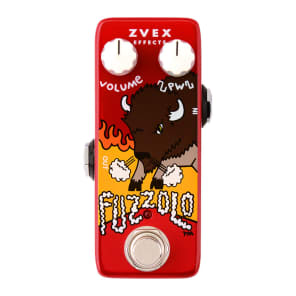 ZVEX Effects Fuzzolo Fuzz FREE U.S. EXPRESS SHIPPING