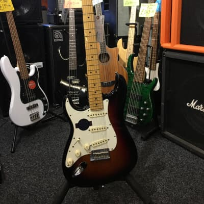 Fender American Standard Stratocaster Left Hand 2011 Sunburst for sale
