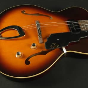 Guild Newark St. Collection T-50 Slim Vintage Sunburst 379-7500-837 (081) for sale
