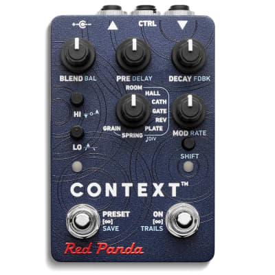 Red Panda Context V2 Reverb Guitar Effect Pedal