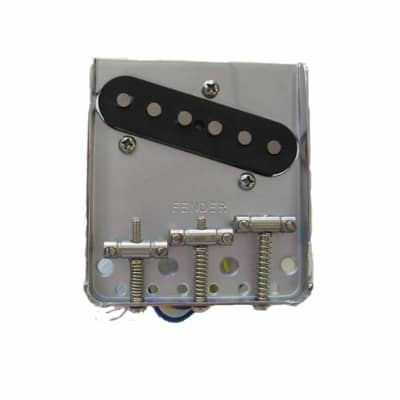 Fender 005-3679-000 Standard Telecaster Thinline Bridge Assembly with Pickup