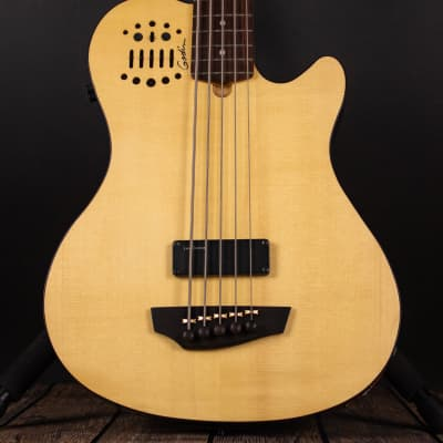 Godin A5 Ultra Semi-Acoustic Bass w/ 13-Pin Capability, Magnetic Pickup (Used) for sale