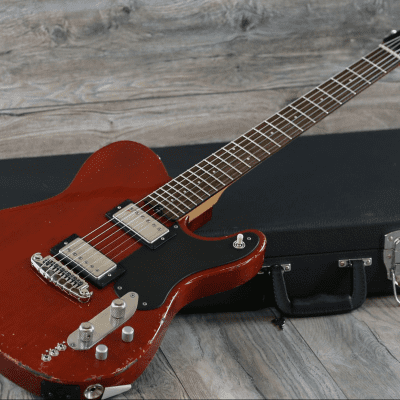 Relic! Shabat Lion Custom Faded Cherry + Hard-Shell Case (3226) for sale