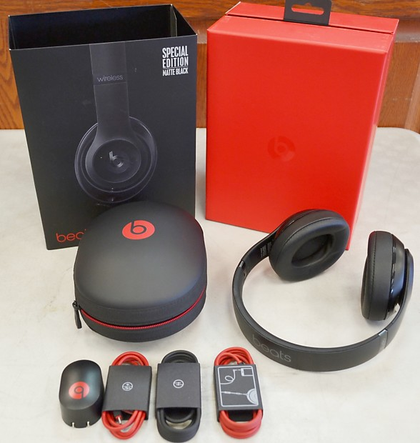 Beats Studio Wireless Special Edition Matte Black Over Ear Reverb