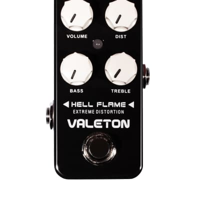 Valeton HELL FLAME DISTORTION Fast, fast US Ship New and Nice!