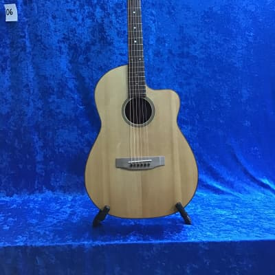 Emerald Bay  hand made parlor cutaway acoustic guitar for sale