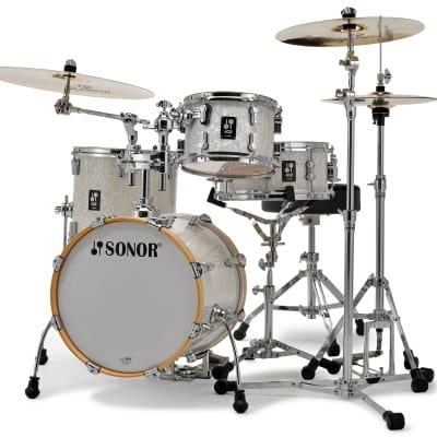 Sonor AQ2 Safari Drum Set - White Pearl