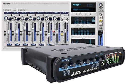 MOTU Audio Express 6 x 6 FireWire//USB 2.0 Audio Interface