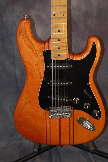 Delta Strat Style Ash Rosewood Maple Pro Setup 1979 Honey