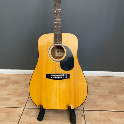 Egmond Model 39 Acoustic Guitar - Vintage w  Case for sale