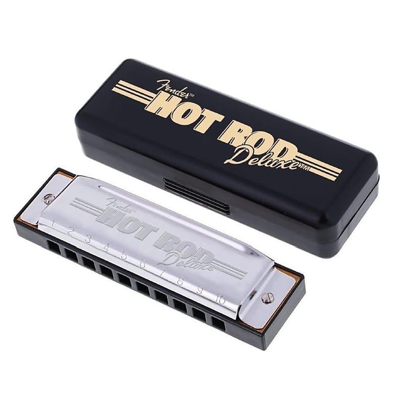 Fender Model Blues Deluxe 10 Hole Major Diatonic Harmonica in the Key of D