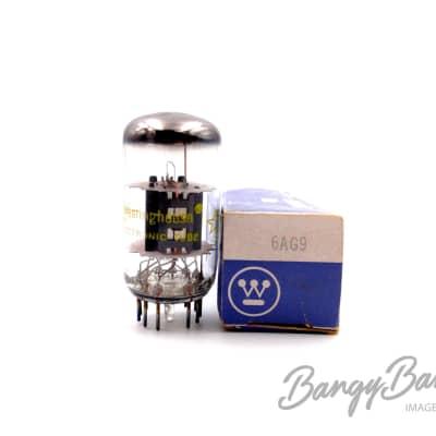 Vintage Westinghouse 6AG9 Sharp Cutoff Compactron Triode Pentode Valve - BangyBang Tubes