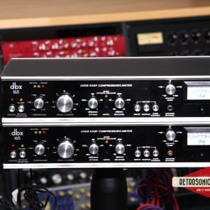 dbx 165 Over Easy Compressor / Limiter Pair