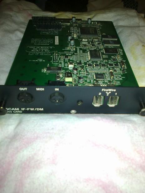 Tascam IF FW/DM firewire card for DM-24 & DM-3200 | Boutique