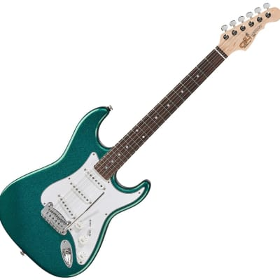 G&L Legacy USA Fullerton Standard Electric Guitar Emerald Blue for sale