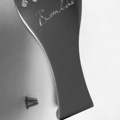 Benedetto Chrome Bambino Archtop Guitar Tailpiece New Old Stock 006-9000-000