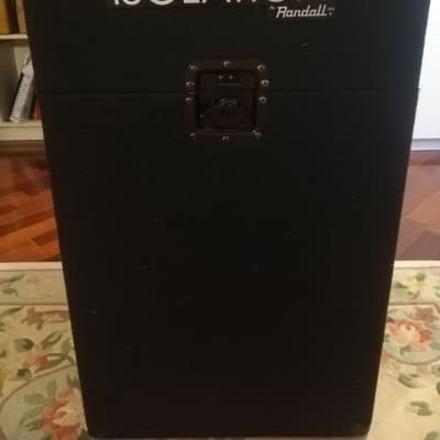 Randall Randall ISO12C isolation cabinet 1x12 isobox isocab with 2x mic mount + acoustic foam for sale