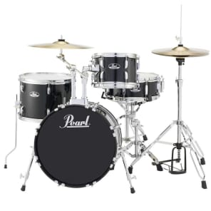 """Pearl RS584C Roadshow 10 / 14 / 18 / 13x5"""" 4pc Drum Set with Hardware, Cymbals"""
