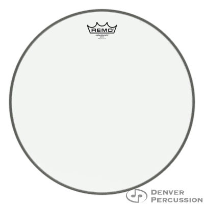 "Remo BA-0315-00- Batter, Ambassador, Clear, 15"" Diameter"