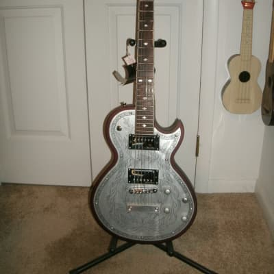 Alden metal top Blues Line electric guitar for sale