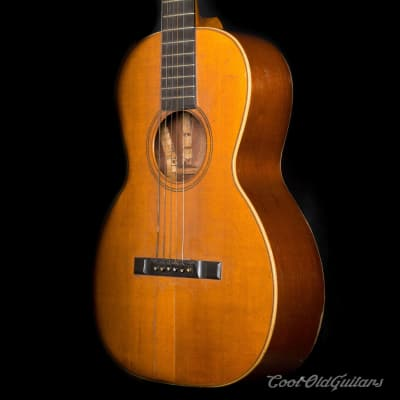 Vintage Early 1900s Lyon & Healy Arion Six String Parlor Acoustic Guitar for sale