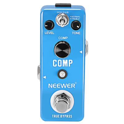 Neewer Mini Compressor Pedal Comp Guitar Effect Pedal Compressor wi