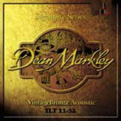 Dean Markley DM2002 VintageBronze Acoustic Guitar Strings - Light 11-46 for sale