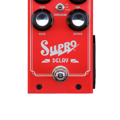 Supro 1313 Analog Delay,  Red