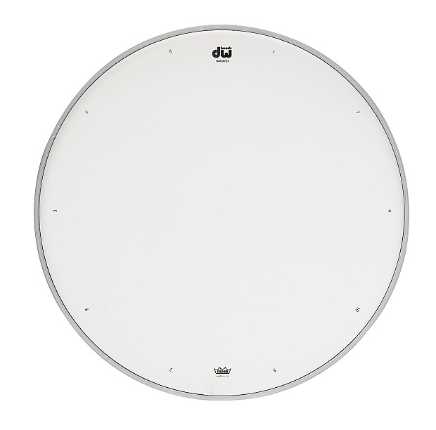 dw drum heads 10in coated snare head w tuning sequenc reverb. Black Bedroom Furniture Sets. Home Design Ideas