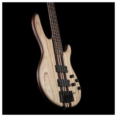 "Cort A4ULTRAENB Artisan Series ""READY TO SHIP ""A4 Ultra Ash Top 4-String Electric Bass Guitar"