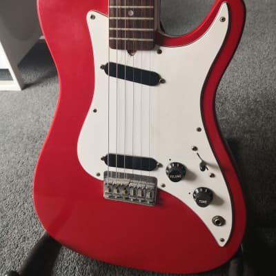 Fender Bullet One Deluxe Red 1981 for sale